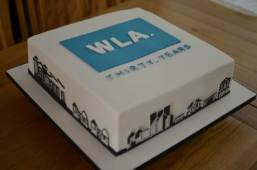 Corporate Architect cake.