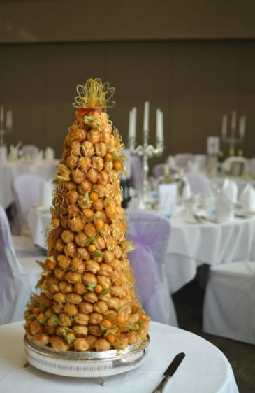 Croquembouche at Windsor