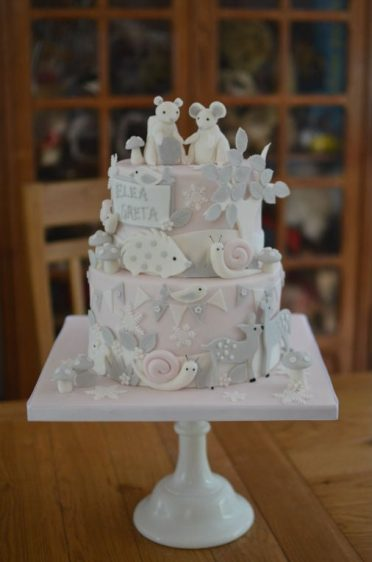 Squirrel & Mouse cake