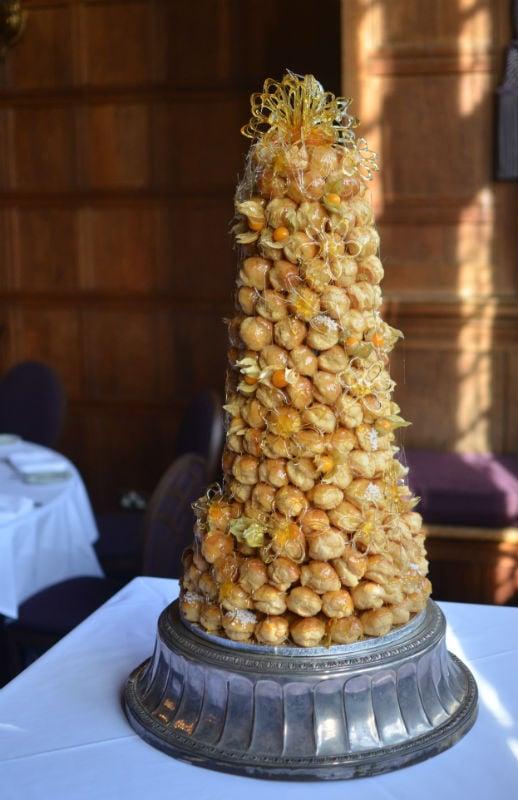Croquembouche Wedding Cake Bristol