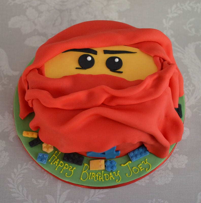 Groovy Lego Ninja Birthday Cake Funny Birthday Cards Online Hendilapandamsfinfo