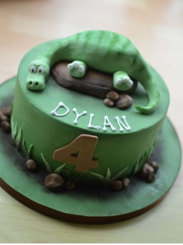 Disney's The Good Dinosaur cake