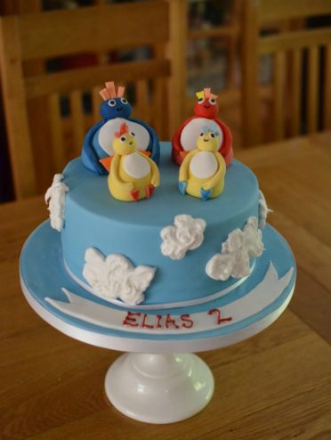 Twirlyboo cake.