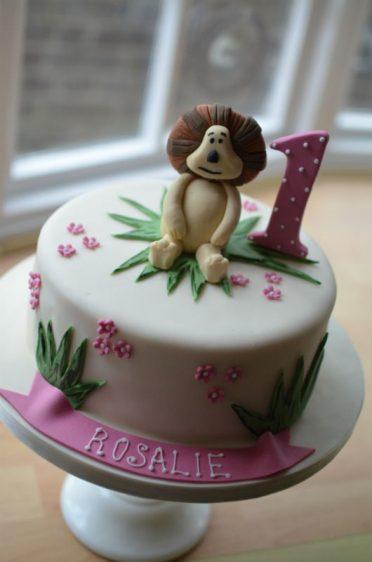 Ra-Ra The Lion cake