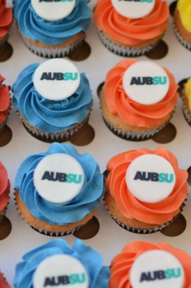 Corporate cupcakes for Bournemouth University