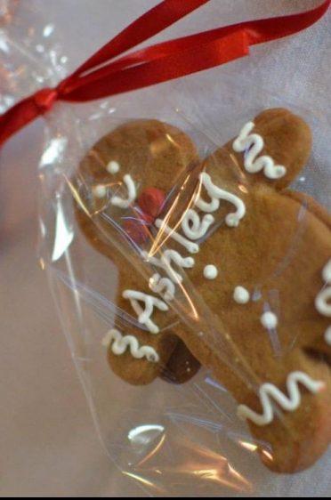 Gingerbread men cookie placenames