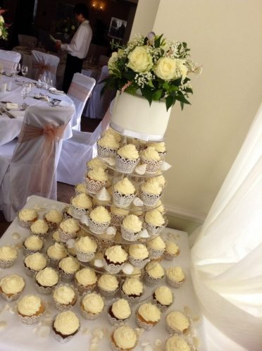Cupcakes at Christchurch Harbour Hotel
