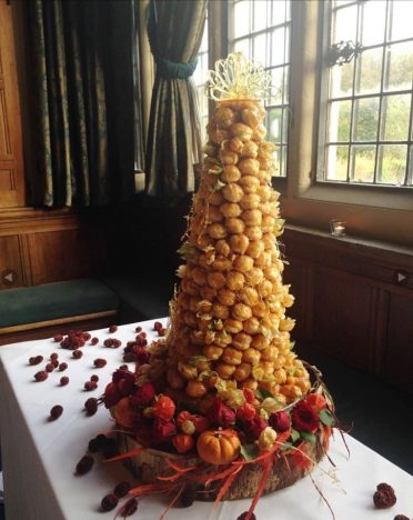 Croquembouche at Rhinefield House