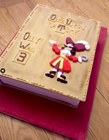 Captain Hook cake