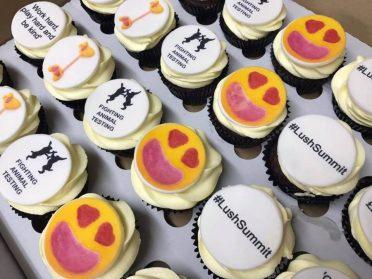 Lush corporate cupcakes for London #LushSummit