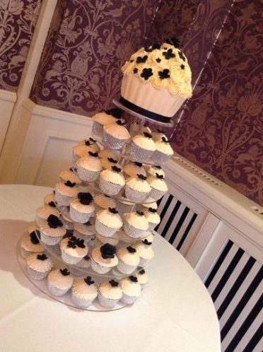 Couture piped cupcakes Chewton Glen Hotel
